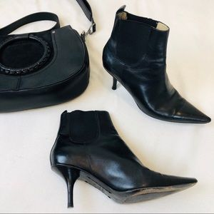 ➖Michael Kors➖ leather ankle boots